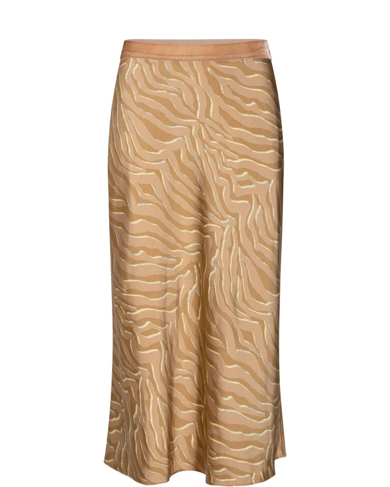 Bias Zebra Skirt