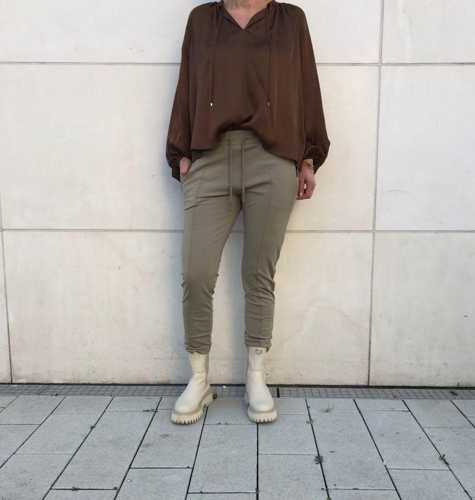 Leni ladies pants classic fit normal rise