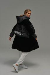 Courage Long Shearling Jacket