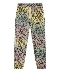 cropped jogger leopard sunset