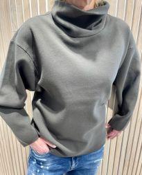 Christina ladies long boxy sweater